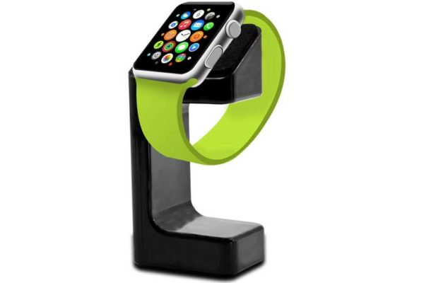 Bridge94 Apple Watch Ladestation mit Kabelführung, schwarz