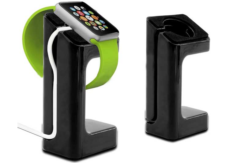 Bridge94 Apple Watch Ladestation mit Kabelführung, schwarz – Handy ...