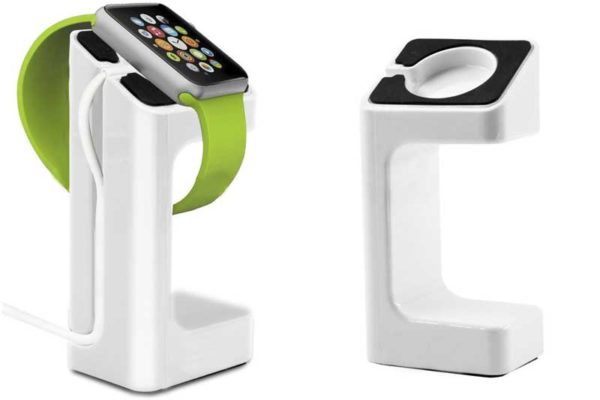 Bridge94 Apple Watch Ladestation mit Kabelführung, weiss