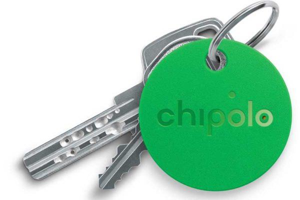Chipolo Classic 2nd Generation- Keyfinder mit wechselbarer Batterie, Bluetooth & Social GPS für alle iOS Geräte & Smartphones, grün