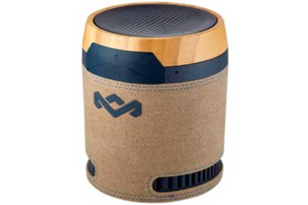 Wireless Boombox mit integr. Akku und Mikrofon, Navy - REFURBISHED