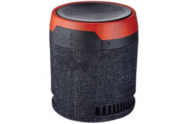 Marley Chant BT V2 Portable Stereo Bluetooth Wireless Boombox mit integr. Akku und Mikrofon, schwarz - REFURBISHED