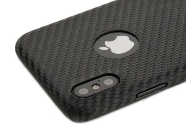 Nevox CarbonSeries iPhone X, Logo-Edition