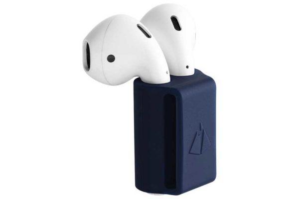 Bridge94 Silikon-Halter für Apple Air Pod, schwarz