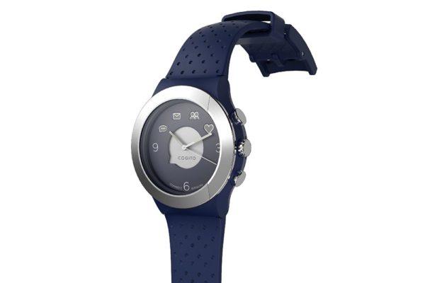 Cogito-Fit-Clevere-wasserdichte-Bluetooth-4.0-SmartWatch-Benachrichtungen-iPhone-Finder-Fernbedienungsfunktionen-Smartphones-Blau-Silber-2