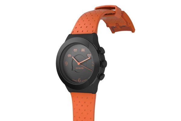 Cogito-Fit-Clevere-wasserdichte-Bluetooth-4.0-SmartWatch-Benachrichtungen-iPhone-Finder-Fernbedienungsfunktionen-Smartphones-Orange-Schwarz-2
