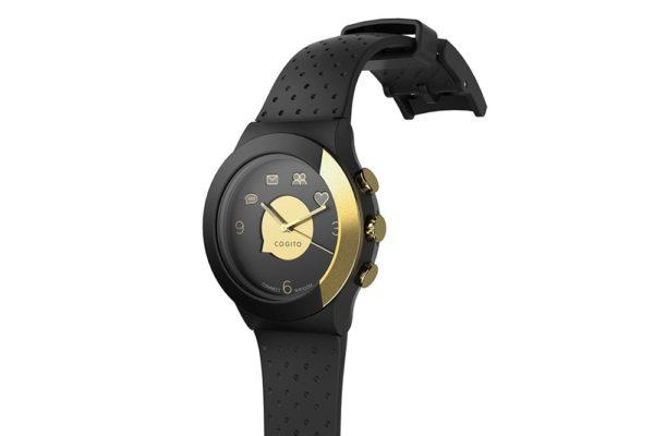 Cogito-Fit-Clevere-wasserdichte-Bluetooth-4.0-SmartWatch-Benachrichtungen-iPhone-Finder-Fernbedienungsfunktionen-Smartphones-Schwarz-Gold-2