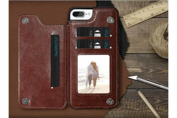 Bridge94-Retro-PU-Leder-Case-Huelle-Kartenhalter-Abdeckung-iPhone-X-6-s-7-8-Plus-XS-XR-3