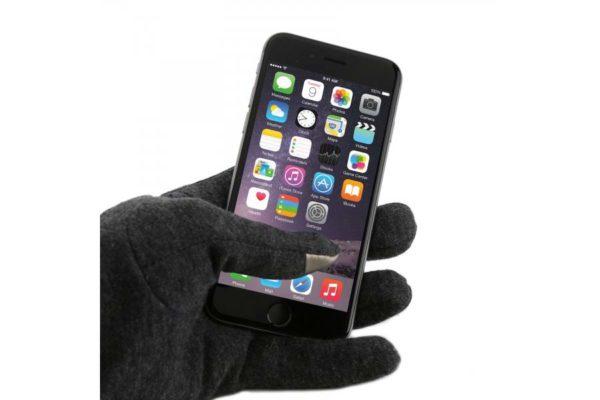 LUXUS-Smartphone-Handschuhe-Schwarz-schwarz-Groesse-universal