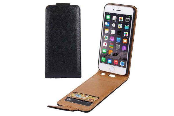 bridge94-iphone-6-6s-plus-leather-wallet-flip-case-schwarz-1