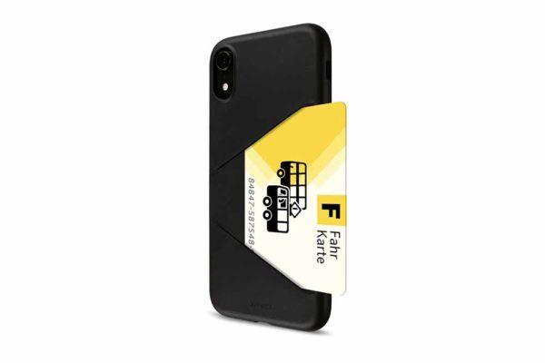 Artwizz-TPU-Card-Case-Elastische-ultradünne-strapazierfähige-Schutzhülle-rutschsicherem-Kreditkartenfach-iPhone-XR-Schwarz