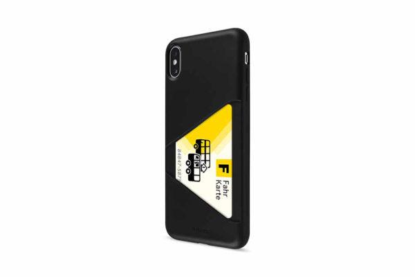 Artwizz-TPU-Card-Case-Elastische-ultradünne-strapazierfähige-Schutzhülle-rutschsicherem-Kreditkartenfach-iPhone-Xs-Max-Schwarz-3