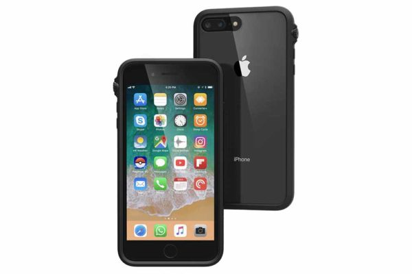 Catalyst-Impact-Military-Grade-Shock-resistentes-Case-(3m-MIL-STD-810G)-iPhone-7-8-Plus-Oese-Schlaufe-Toggle-Stummschaltung-Stealth Black
