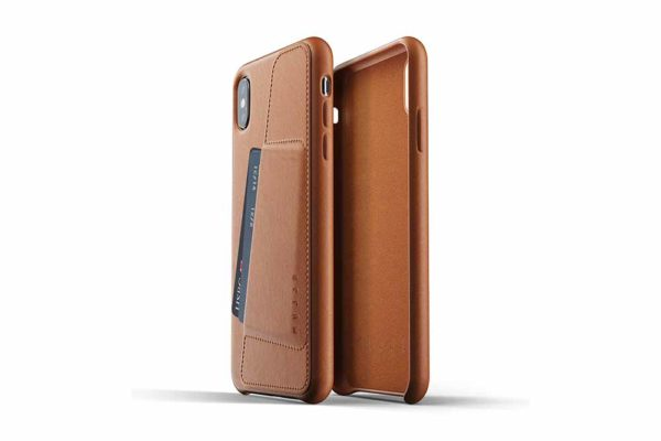 Mujjo-Full-Leather-Wallet-Case-Edle-Ledertasche-iPhone-Xs-Max-Kreditkartenfach-braun