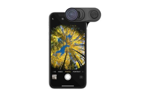 Olloclip-Macro-Essential-Super-Wide-Lens-multifunktionale-Kamera-Fisheye