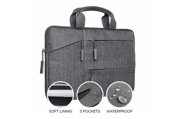 Satechi-wasserresistente-Laptoptasche-praktischen-Taschen-MacBook-13-Notebook-Grau-2