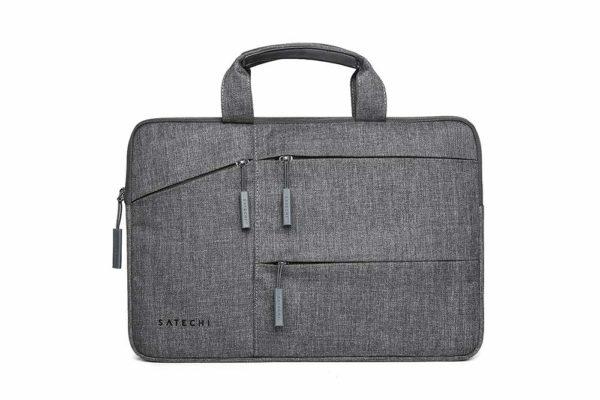 Satechi-wasserresistente-Laptoptasche-praktischen-Taschen-MacBook-13-Notebook-Grau