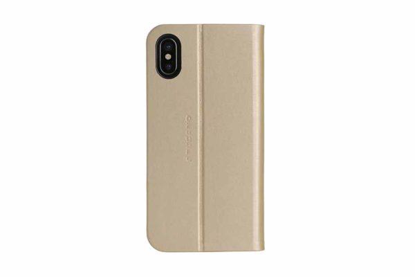 Tucano-Filo-Foliocase-Stand-Magnetfunktion-Kreditkartenfach-Anti-Radiation-System-iPhone-X-Xs-Gold-3