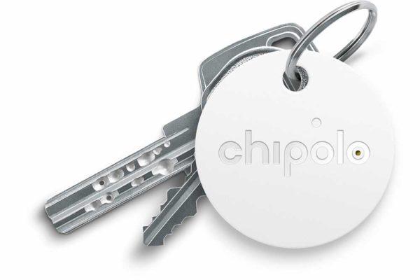 Chipolo-Classic-2nd-Generation-Keyfinder-wechselbarer-Batterie-Bluetooth-Social-GPS-iOS-Smartphones-weiss-2