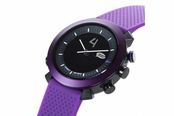 Cogito-Classic-Clevere-wasserdichte-Bluetooth-4.0-SmartWatch-Benachrichtungen-iPhone-Finder-Fernbedienungsfunktionen-Smartphones-Purple-2