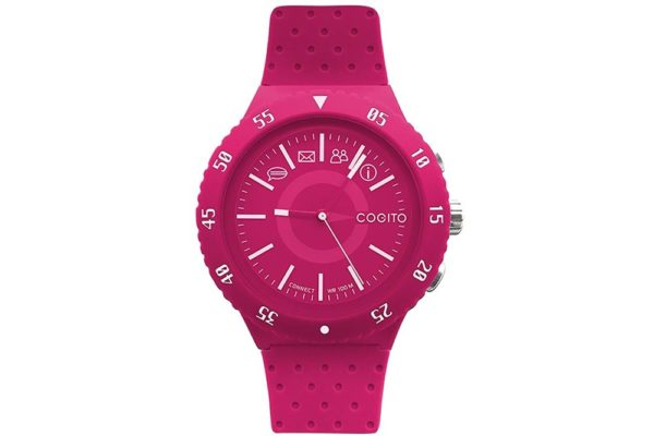 Cogito-Pop-Clevere-wasserdichte-Bluetooth-4.0-SmartWatch-Benachrichtungen-Phone-Finder-Fernbedienungsfunktionen-iPhone-Smartphones-Pink
