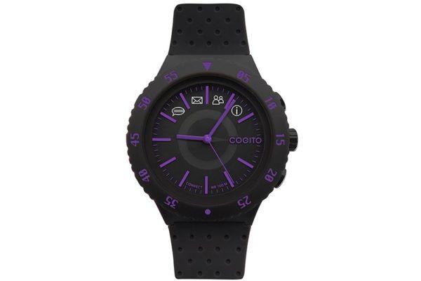 Cogito-Pop-Clevere-wasserdichte-Bluetooth-4.0-SmartWatch-Benachrichtungen-Phone-Finder-Fernbedienungsfunktionen-iPhone-Smartphones-Purple