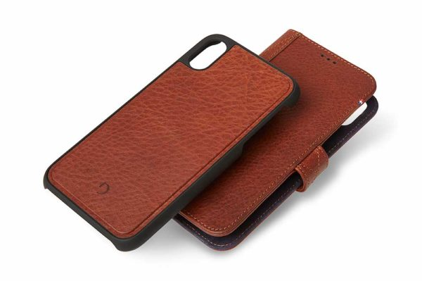 Decoded-Premium-2-in-1-Wallet-Case-Backcover-Fächer-Kreditkarten-Cash-iPhone-XR-Cinnamon-Brown