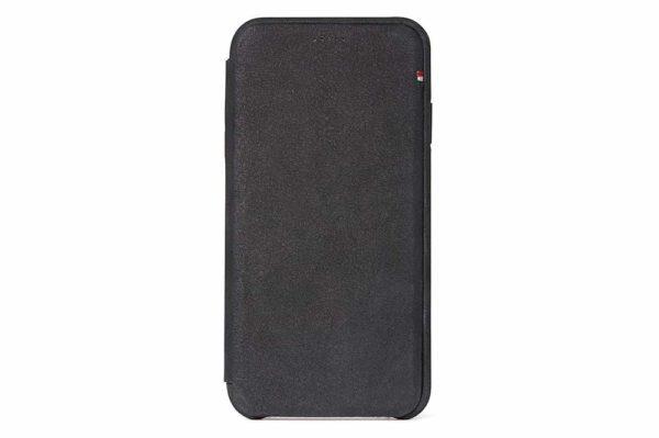 Decoded-Slim-Wallet-Ultradünne-edle-Ledertasche-iPhone-Xs-Max-Kartensteckplatz-magnetischem-Verschluss-Schwarz