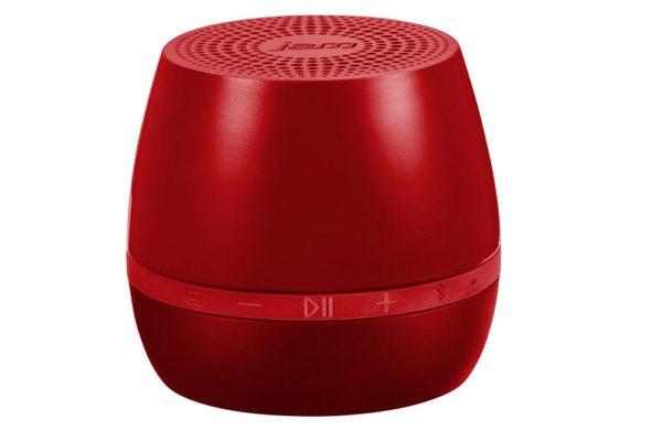 HMDX-JAM-Classic-portabler-universeller-Bluetooth-Mini-Lautsprecher-Akku-Klinkenanschluss-rot