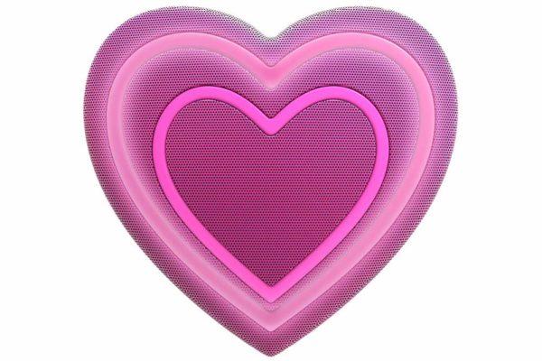 HMDX-JAM-Jamoji-V2-Heart-Bluetooth-Lautsprecher-lustiger-Emoticon-Form-Lichteffekten-Purple-2