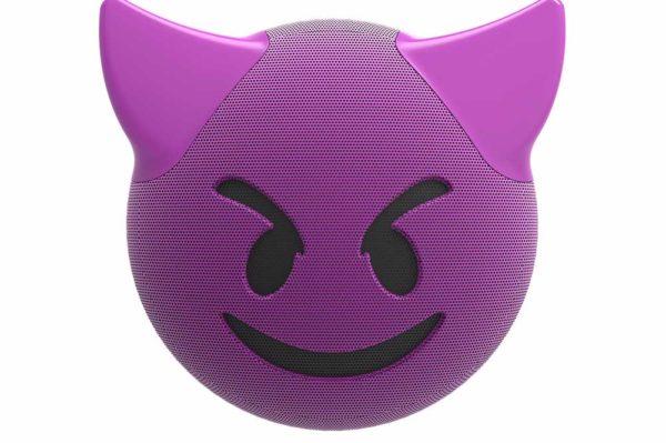 HMDX-JAM-Jamoji-V2-trouble-Bluetooth-Lautsprecher-lustiger-Emoticon-Form-Lichteffekten-Purple-2