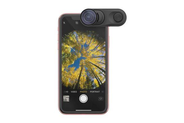 Olloclip-Fisheye-Macro-Essential-Thelephoto-Essential-Lens-Aufsteckobjektiv Super-Wide-iPhone-Xr