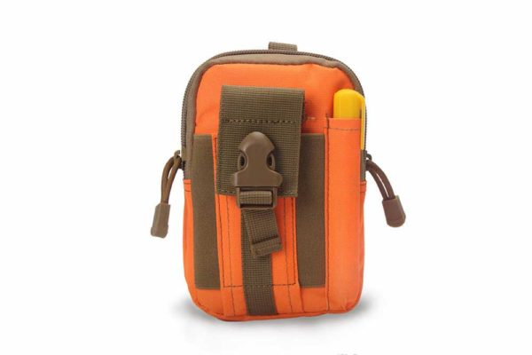 Bridge94-Military-Outdoor-Freizeit-Tasche-Guertelschlaufe-hell-orange