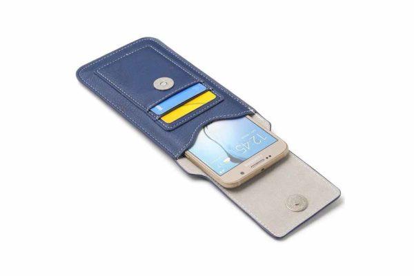 Bridge94-iPhone-6-7-8-Plus-Xr-Xs-Max-Gürtel-Holster-Tasche-Kreditkarten-vertikal-Blau-2