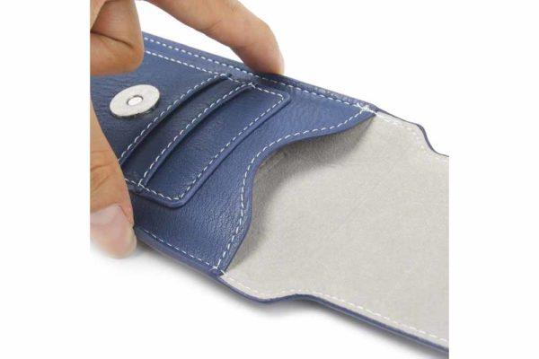 Bridge94-iPhone-6-7-8-Plus-Xr-Xs-Max-Gürtel-Holster-Tasche-Kreditkarten-vertikal-Blau-4