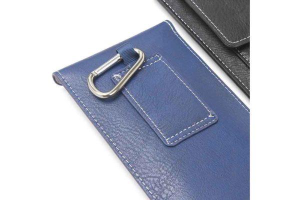 Bridge94-iPhone-6-7-8-Plus-Xr-Xs-Max-Gürtel-Holster-Tasche-Kreditkarten-vertikal-Blau-5