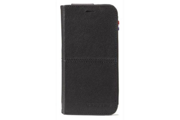 Decoded-Premium-Leder-Surface Wallet-Kreditkartenfach-Standfunktion-iPhone-6-6S-Schwarz-3