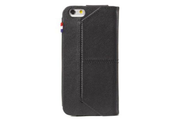 Decoded-Premium-Leder-Surface Wallet-Kreditkartenfach-Standfunktion-iPhone-6-6S-Schwarz-4