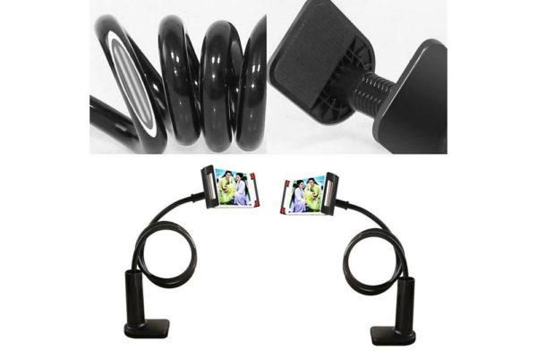 Tisch-Bett-Klemm-Ständer-Halter-Halterung-iPad-Tablet-Flexibler-Arm-11