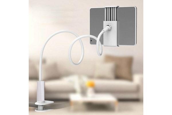Tisch-Bett-Klemm-Ständer-Halter-Halterung-iPad-Tablet-Flexibler-Arm-5