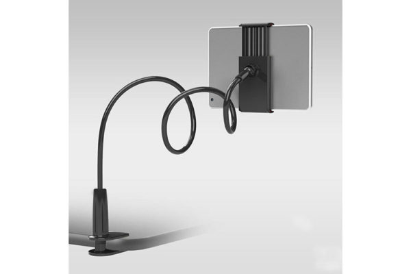 Tisch-Bett-Klemm-Ständer-Halter-Halterung-iPad-Tablet-Flexibler-Arm-9