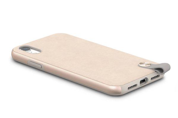 Moshi-Altra-Dünnes-Lifestyle-Case-Schutzfaktor-Armschlaufe-iPhone-XR-Beige-3