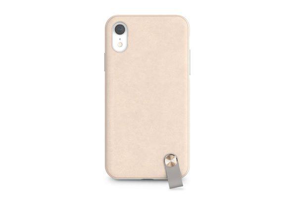 Moshi-Altra-Dünnes-Lifestyle-Case-Schutzfaktor-Armschlaufe-iPhone-XR-Beige-4
