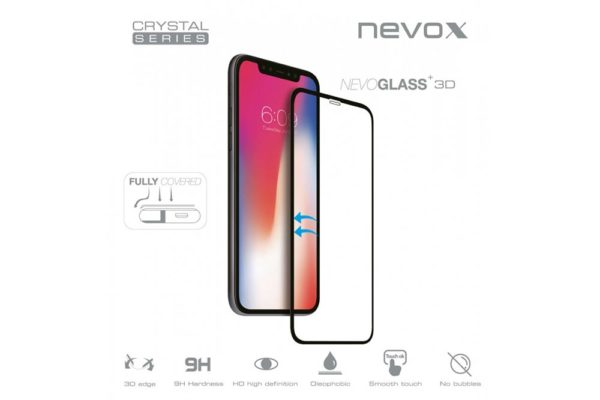 NEVOGLASS-3D-iPhone-Xs-Max-curved-Glass