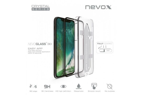 NEVOGLASS-3D-iPhone-Xs-Max-curved-Glass-EASY-APP