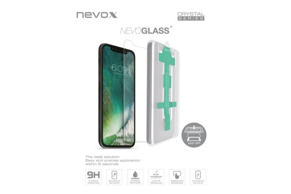NEVOGLASS-iPhone-Xs-Max-tempered-Glass-EASY-APP