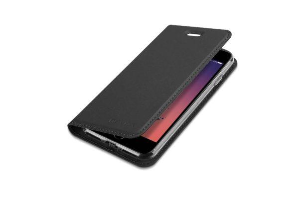 Nevox Vario Series-iPhone-8-7-Booktasche-Kreditkartenfach-magent-basaltgrau-1