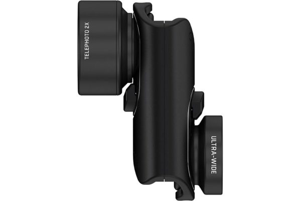 Olloclip-activ-Lens-set-Aufsteckobjektiv-Wide-Angle-Tele-iphone-7-8-plus-Black-2
