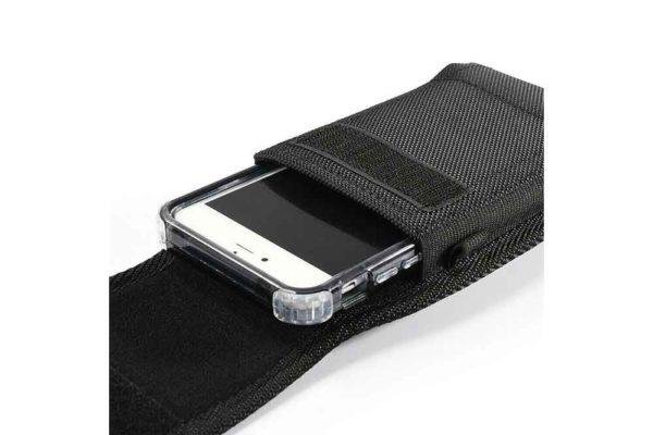 Bridge94-universal-Smartphone-Gürtel-Holster-Tasche-vertikal-horizontal-schwarz-12