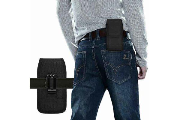 Bridge94-universal-Smartphone-Gürtel-Holster-Tasche-vertikal-horizontal-schwarz-4